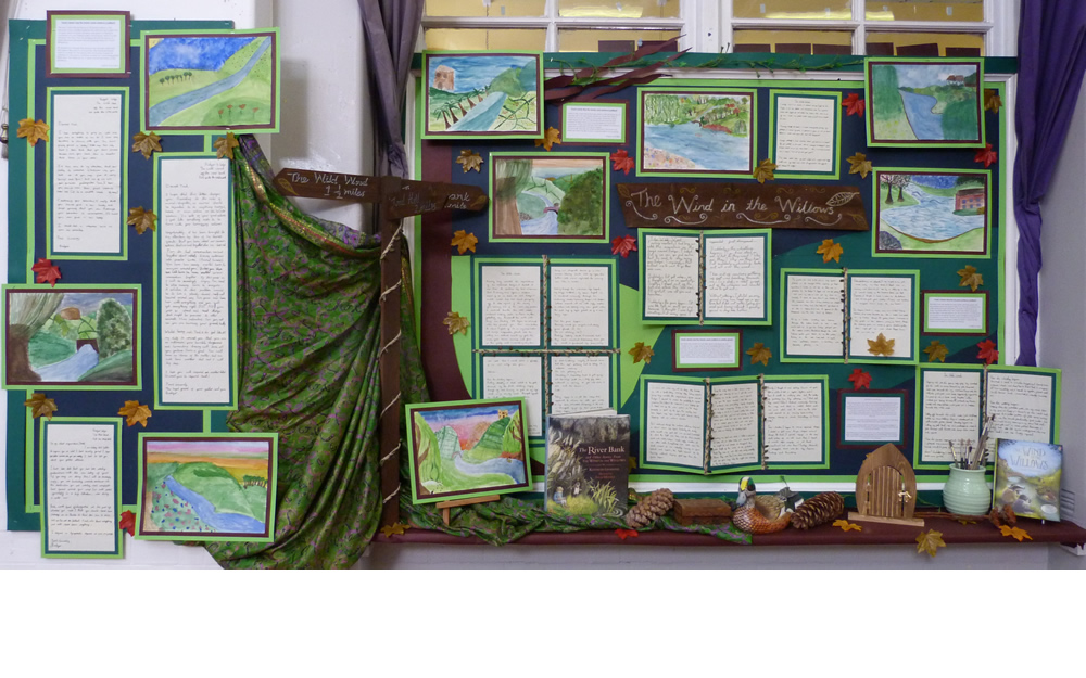 The wind in the willows - Year 5