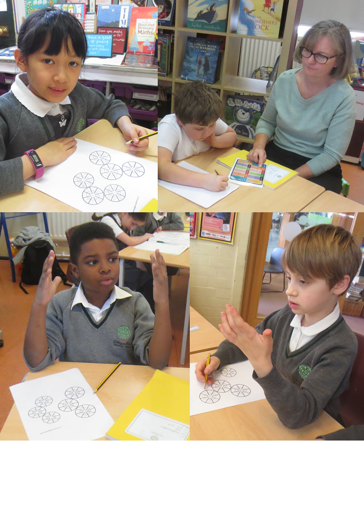 A quick practice of tables before we start our maths work.