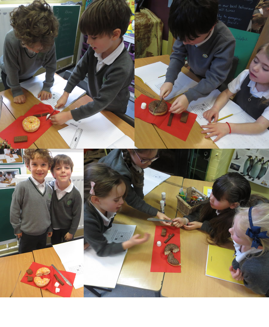 Year 2 fractions in action