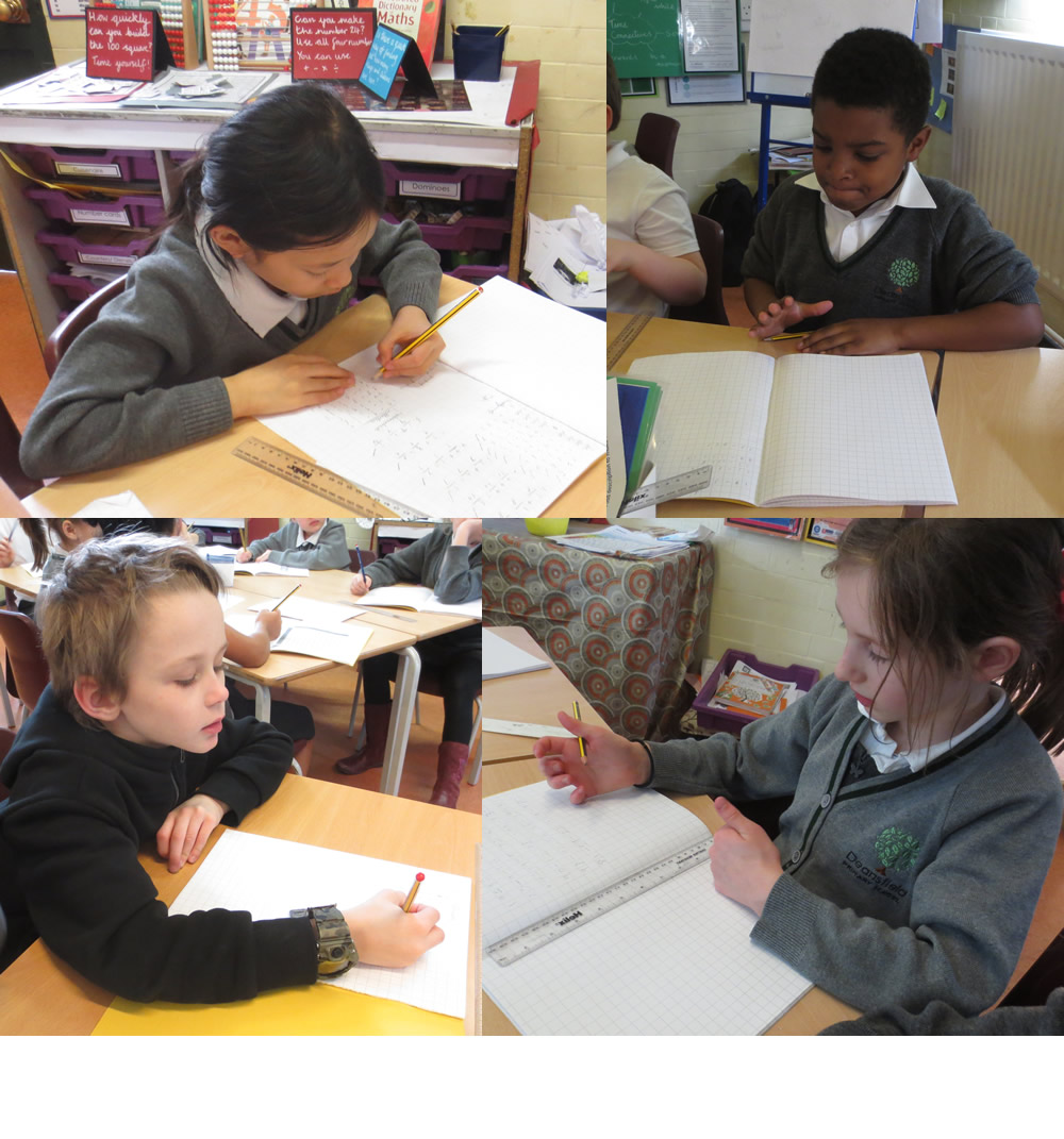 6 minutes and 12 subtraction calculations - there's a challenge!