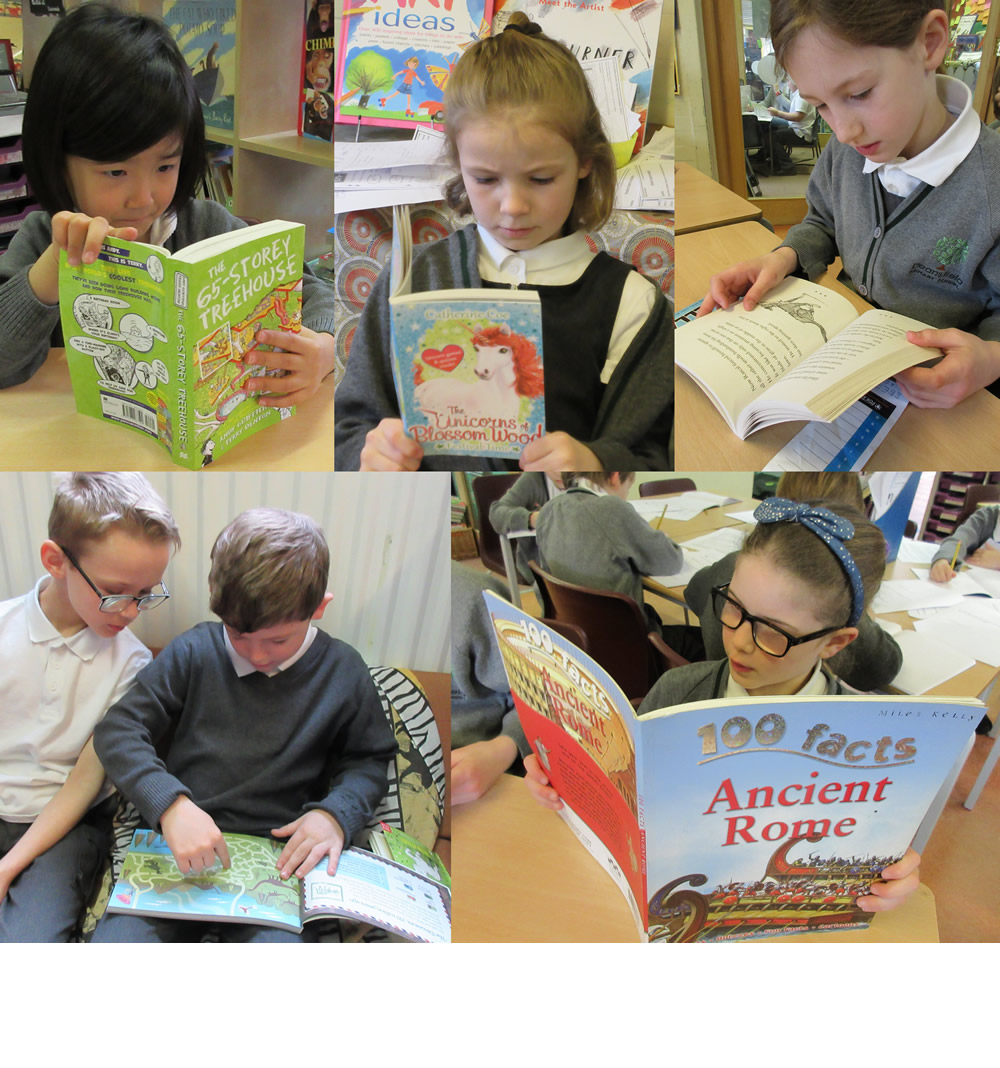 More minutes on our log for the Reading Challenge.