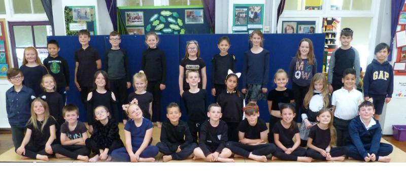 Well done, Class 4PW. A fantastic assembly.