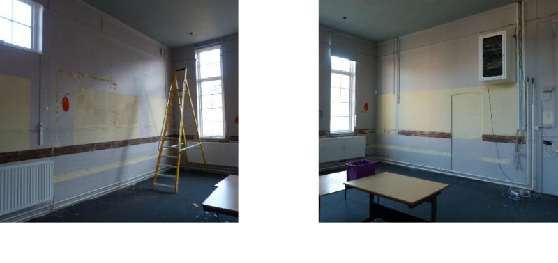 Work has started on turning our old ICT suite into the new Digital Hub!